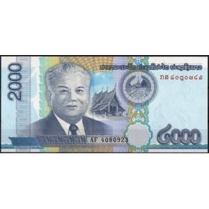 Лаос 2000 кип 2011 - UNC
