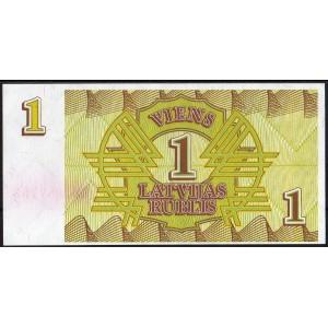 Латвия 1 рубль 1992 - UNC