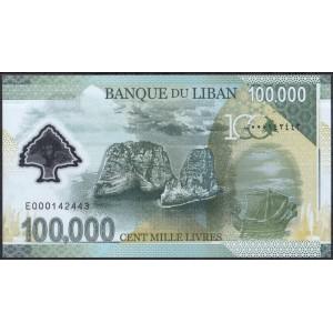 Ливан 100000 ливров 2020 - UNC
