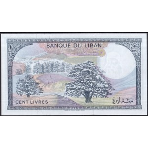 Ливан 100 ливров 1983 - UNC