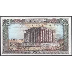 Ливан 50 ливров 1983 - UNC