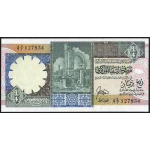 Ливия 1/4 динара 1991 - UNC
