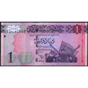 Ливия 1 динар 2013 - UNC
