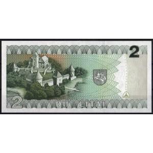 Литва 2 лита 1993 - UNC