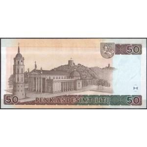 Литва 50 литов 2003 - UNC