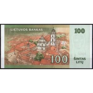 Литва 100 литов 2007 - UNC