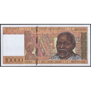 Мадагаскар 10000 франков 1995 - UNC