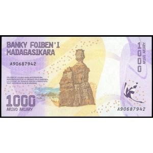 Мадагаскар 1000 ариари 2017 - UNC