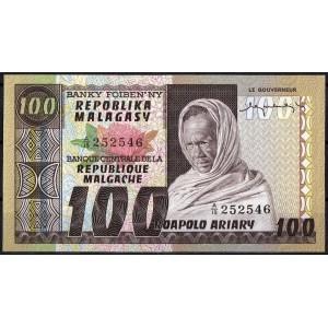 Мадагаскар 100 франков 1974 - UNC