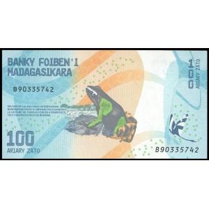 Мадагаскар 100 ариари 2017 - UNC