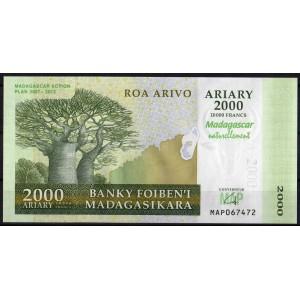 Мадагаскар 2000 ариари 2007 - UNC