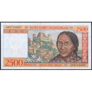 Мадагаскар 2500 франков 1998 - UNC