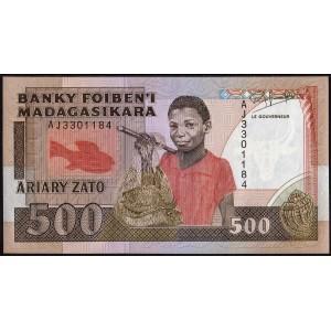 Мадагаскар 500 ариари 1988 - UNC