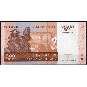 Мадагаскар 500 ариари 2004 - UNC