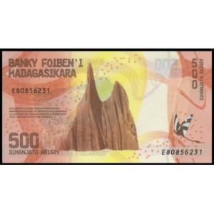 Мадагаскар 500 ариари 2017 - UNC