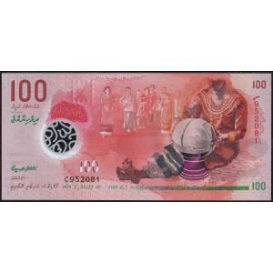 Мальдивы 100 руфий 2018 - UNC