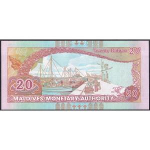 Мальдивы 20 руфий 2008 - UNC
