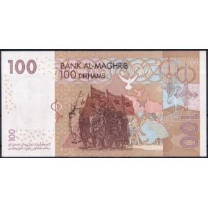 Марокко 100 дирхам 2002 - UNC