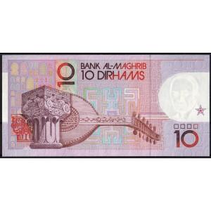 Марокко 10 дирхам 1991 - UNC