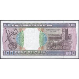 Мавритания 100 угий 2001 - UNC