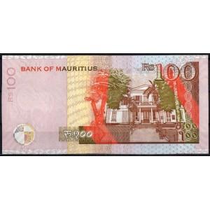 Маврикий 100 рупий 2012 - UNC