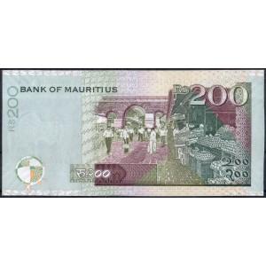 Маврикий 200 рупий 2007 - UNC