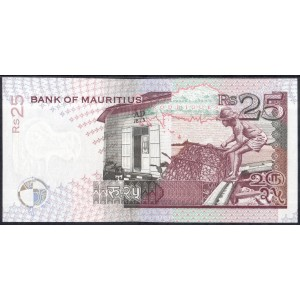 Маврикий 25 рупий 1998 - UNC