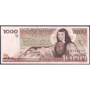 Мексика 1000 песо 1982 - UNC