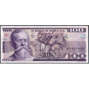 Мексика 100 песо 1982 - UNC
