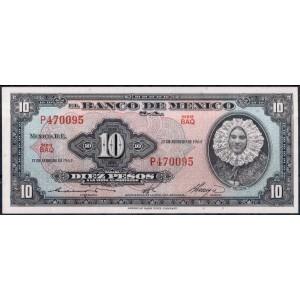 Мексика 10 песо 1965 - UNC