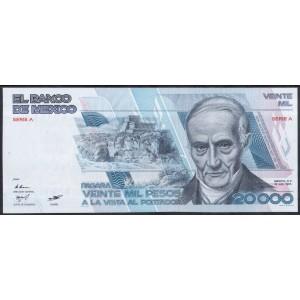 Мексика 20000 песо 1985 - UNC