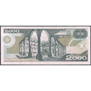 Мексика 2000 песо 1987 - UNC