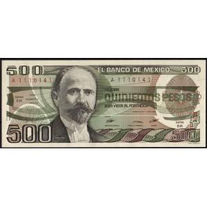 Мексика 500 песо 1984 - UNC