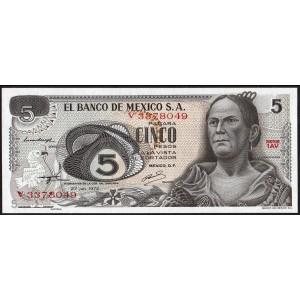 Мексика 5 песо 1972 - UNC
