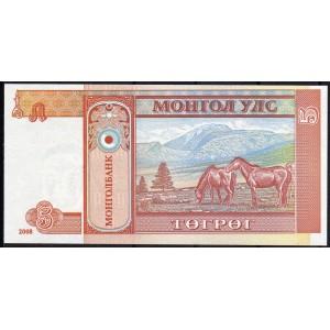 Монголия 5 тугриков 2008 - UNC