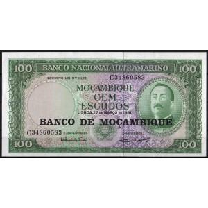 Мозамбик 100 эскудо 1976 - UNC