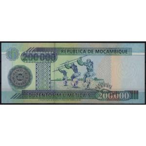 Мозамбик 200 000 метикалов 2003 - UNC