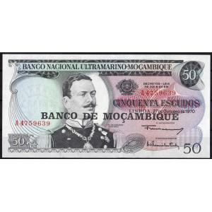 Мозамбик 50 эскудо 1976 - UNC