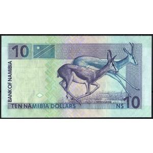 Намибия 10 долларов 2001 - UNC