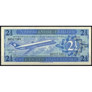 Антильские острова 2,5 гульдена 1970 - UNC