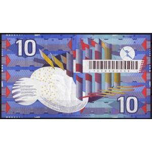 Нидерланды 10 гульденов 1997 - XF+
