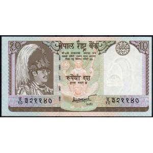 Непал 10 рупий 1985 - UNC