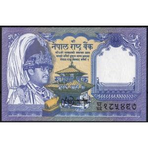 Непал 1 рупия 1991 - UNC