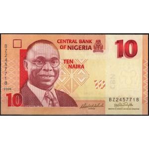Нигерия 10 найра 2006 - UNC