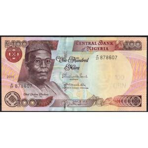 Нигерия 100 наира 2011 - UNC