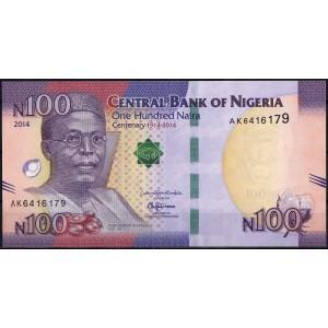 Нигерия 100 найра 2014 - UNC