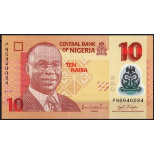 Нигерия 10 найра 2009 - UNC