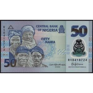 Нигерия 50 найра 2016 - UNC