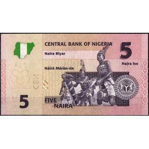 Нигерия 5 найра 2006 - UNC