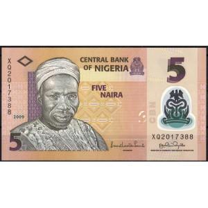 Нигерия 5 найра 2009 - UNC